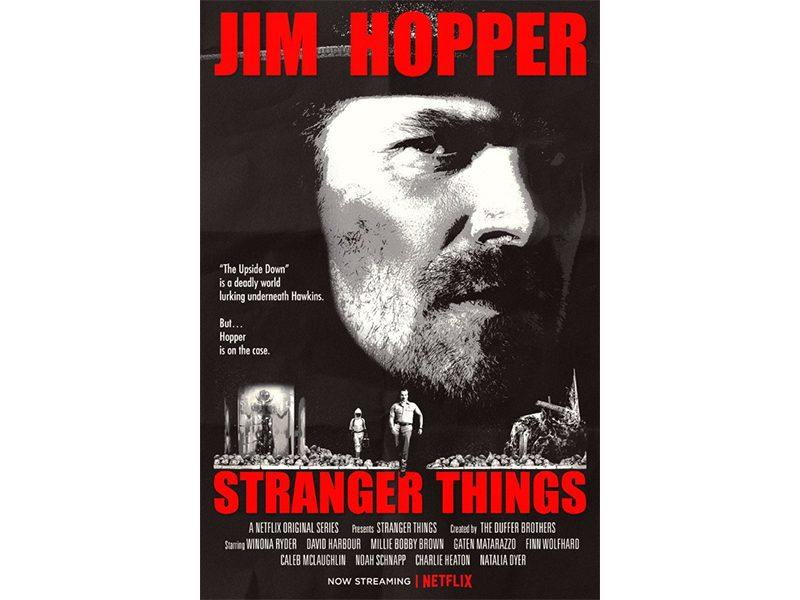 Poster Stranger Things Temporada 2 O Sobrevivente