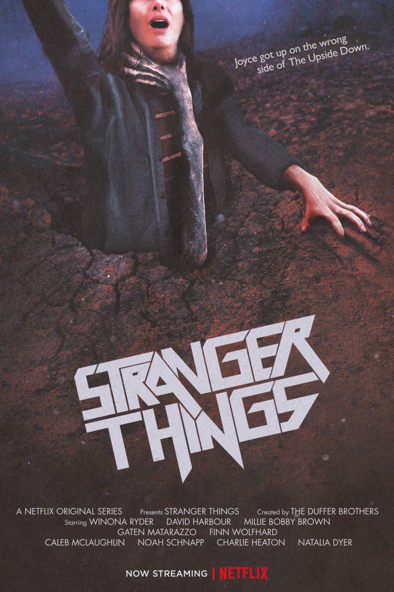 Poster Stranger Thins Evil Dead