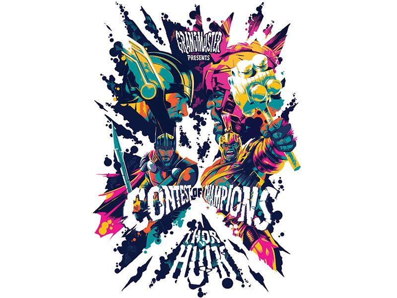 Posters Thor Ragnarok (10)