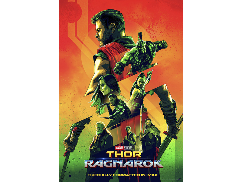 Posters Thor Ragnarok (2)