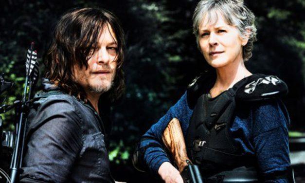 THE WALKING DEAD   Veremos a Carol guerreira na oitava temporada de novo!