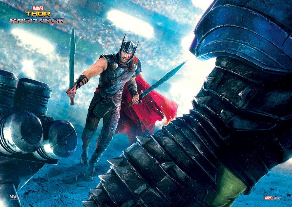 Thor e Hulk (2)