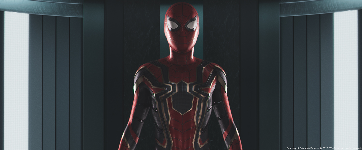 Vingadores Guerra Infinita Aranha de Ferro