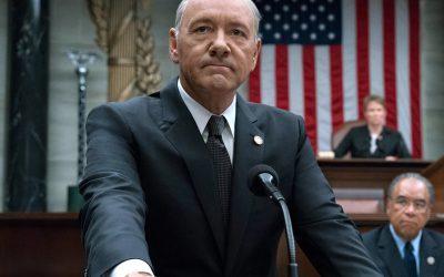 HOUSE OF CARDS | A casa caiu para o Kevin Spacey na Netflix!