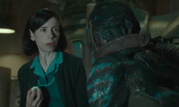 A FORMA DA  ÁGUA | A produção mais orgulhosa de Guillermo del Toro!