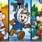 COISA MAIS FOFA | Turma da Mônica homenageia Star Wars no novo volume de Clássicos do Cinema!