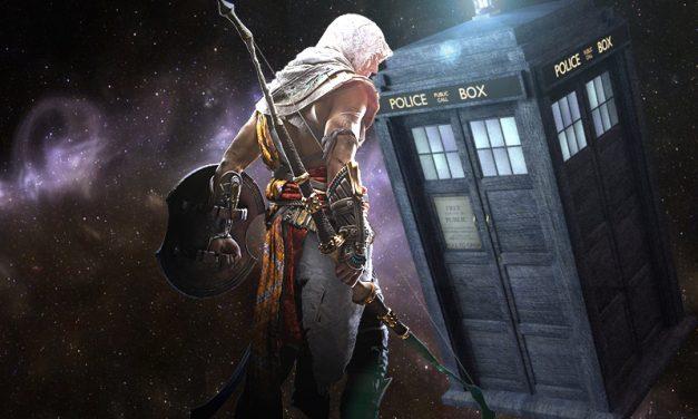 ASSASSIN'S CREED ORIGINS | Acharam uma referência a Doctor Who no jogo!