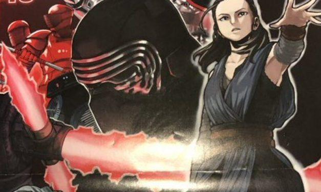 OS ÚLTIMOS JEDI | Autor do anime My Hero Academia divulga poster para o filme!