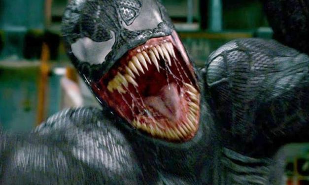 CCXP 2017   Possível logo do filme solo do Venom é visto no evento!