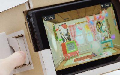 FAÇA VOCÊ MESMO | Nintendo lança o LABO, linha de brinquedos de papelão para o Switch!
