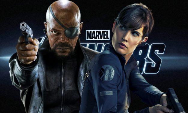 VINGADORES 4   Nick Fury e Maria Hill são vistos nos sets de filmagens!