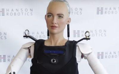 MEDO REAL   Sophia, a robô com cidadania saudita, agora sabe andar!