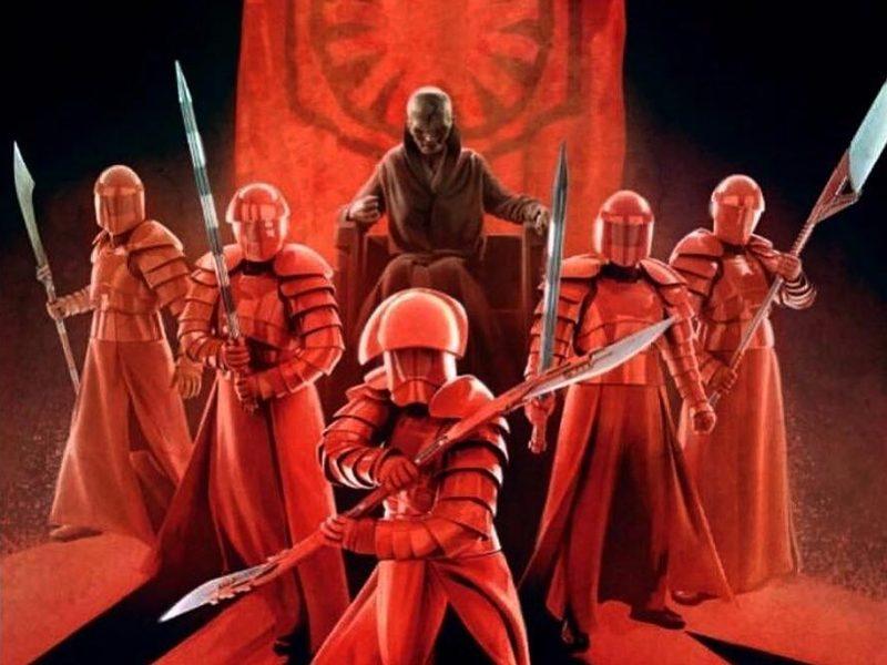 Os 218 Ltimos Jedi Por Lealdade A Guarda Pretoriana De