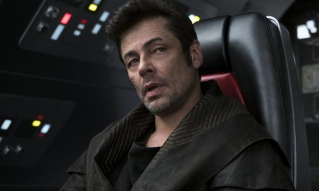 OS ÚLTIMOS JEDI | HQ contará história do personagem de Benicio del Toro!