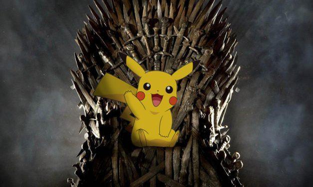 QUERO   Vídeo feito dos fãs mistura Game of Thrones com Pokémon!