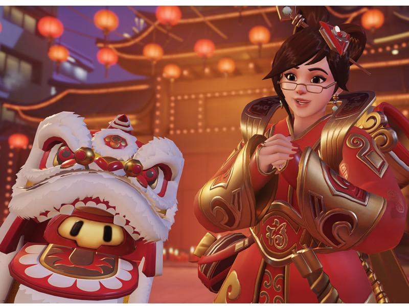 OVERWATCH | Ano Novo Lunar chega ao game semana que vem!