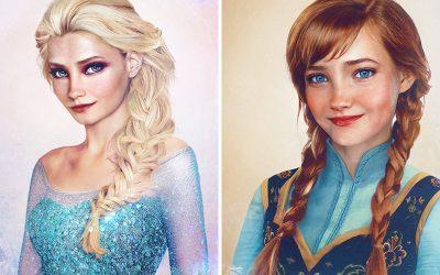 DISNEY | E se as princesas fossem pessoas de verdade?