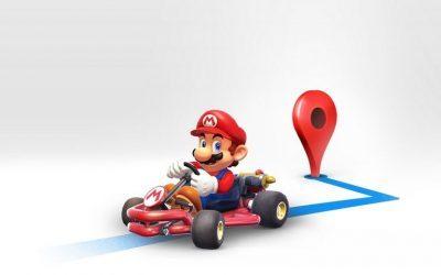GOOGLE MAPS | Venha brincar de Mario Kart no seu GPS!