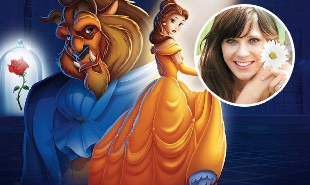 A BELA E A FERA | Disney confirma Zooey Deschanel no musical!