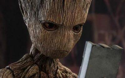 GUERRA INFINITA   Groot adolescente é tão revoltado quanto perigoso!