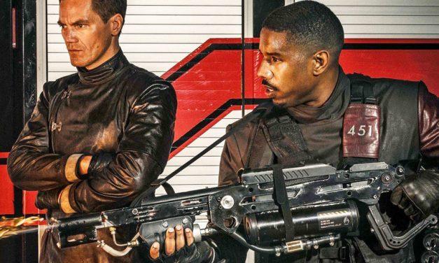 FAHRENHEIT 451   Filme protagonizado pelo Killmonger de Pantera Negra estreia dia 19 na HBO!