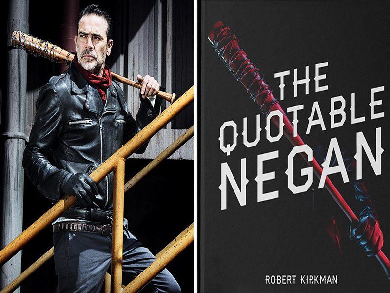 THE WALKING DEAD | Livro sobre o vilão Negan!
