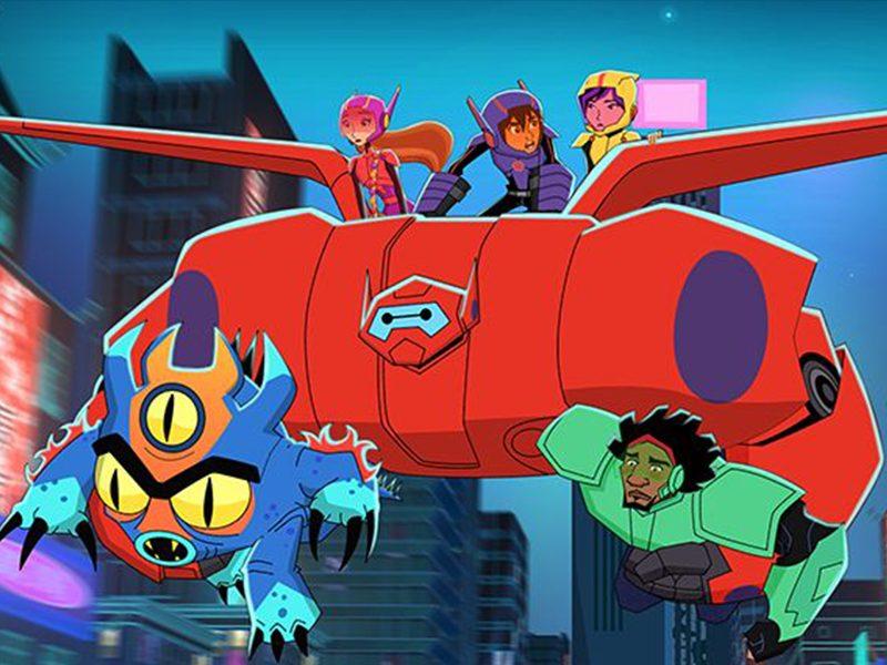 BIG HERO 6   Muitas aventuras com Baymax no trailer do desenho!