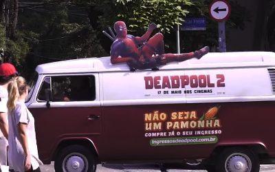 DEADPOOL | Não seja um PAMONHA e compre seu ingresso com o carro do herói!