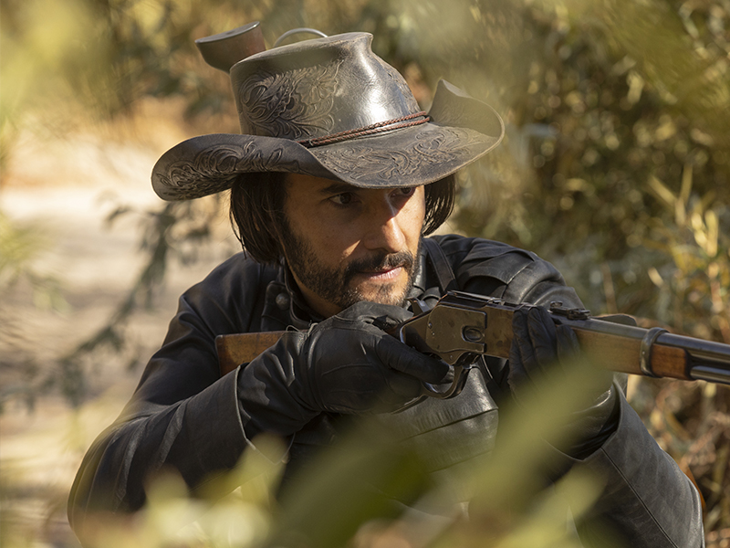 WESTWORLD   Hector está armado nas imagens do último episódio!
