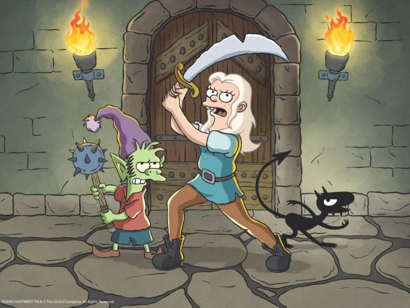 (DES)ENCANTO   Matt Groening chega na Netflix zuando Futurama e Os Simpsons em desenho medieval!