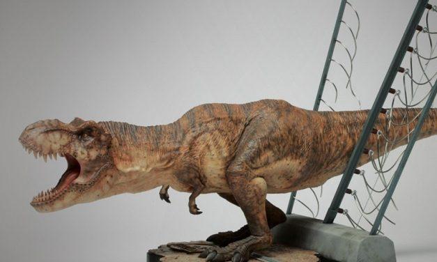 IRON STUDIOS | Estátuas incríveis de Jurassic Park!