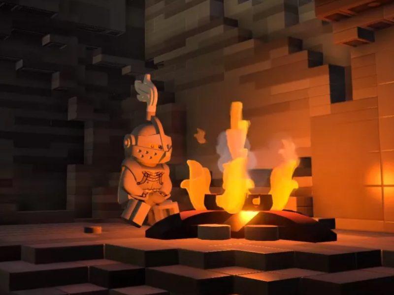 DARK SOULS | Uma versão em LEGO do jogo!