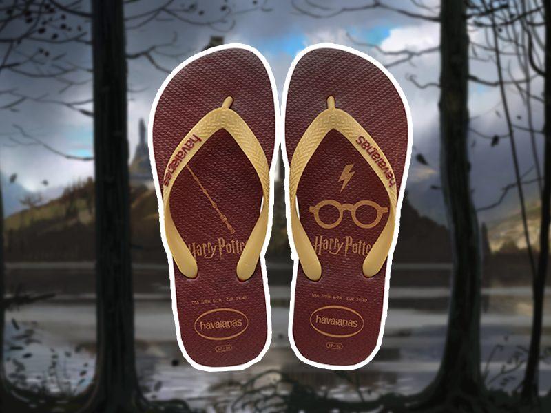 HAVAIANAS | Juro solenemente não fazer nada de bom com as novas sandálias de Harry Potter!