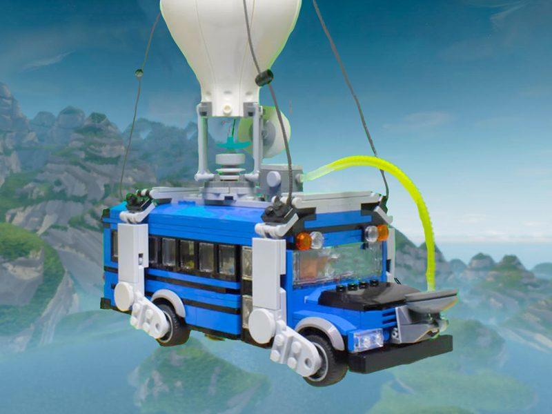 FORTNITE | Um fã criou o jogo inteiro no mundo de LEGO Worlds!
