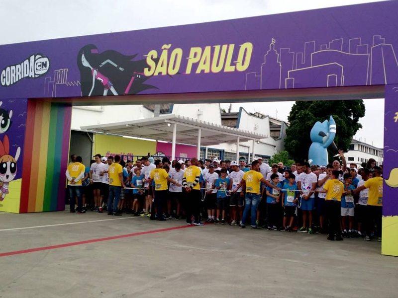 CORRIDA CARTOON   Quem é de São Paulo já pode ir aquecendo os pés!