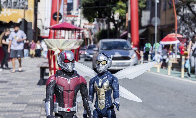 HOMEM FORMIGA E A VESPA | Heróis fazem uma passeio pela cidade de São Paulo e tiram fotos hilárias!
