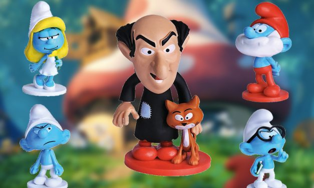 BOBS | Smufs completaram 60 anos e são os novos toy arts da lanchonete!