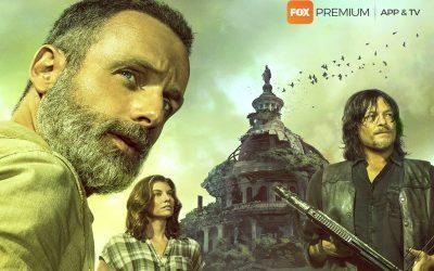 THE WALKING DEAD | FOX divulga arte inédita da próxima temporada da série!