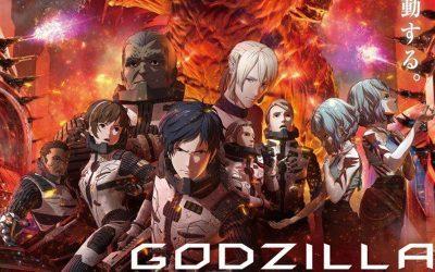GODZILLA   Continuação de filme animado, que chega em breve a Netflix, ganha trailer e data de estreia!