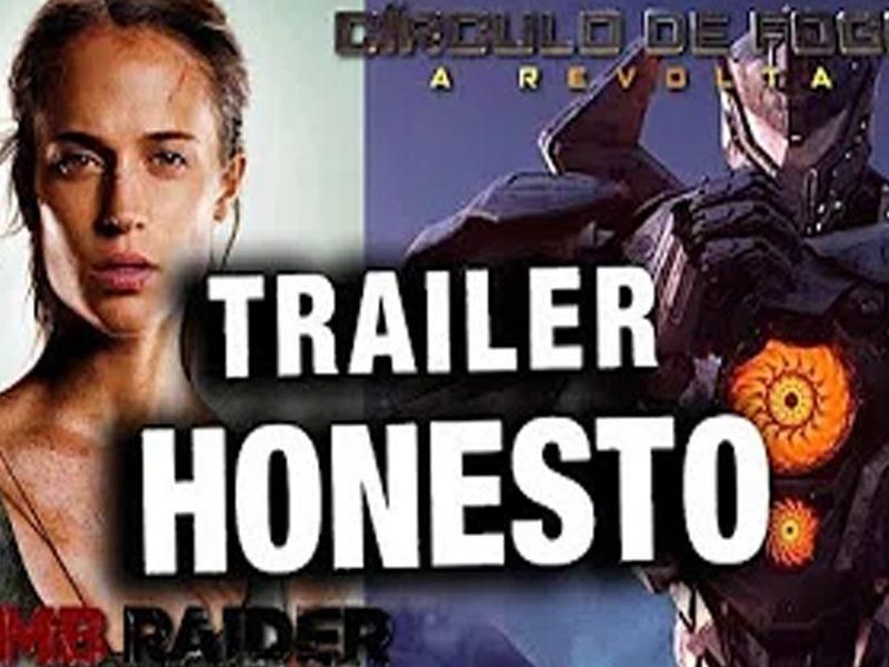 TRAILER HONESTO   Uma versão bem mais sincera e engraçada de filmes famosos!