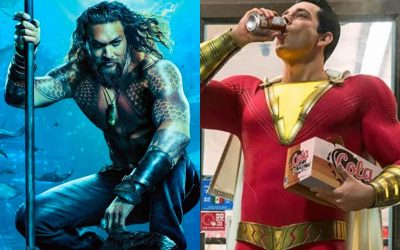 SDCC LIVE | Reaction Trailer: Aquaman, Shazam e DC Black Label!
