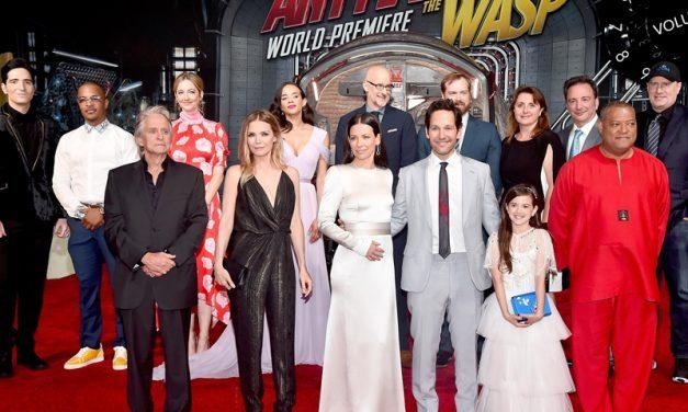 HOMEM FORMIGA E A VESPA   Um elenco monstruoso para a nova super produção da Marvel!