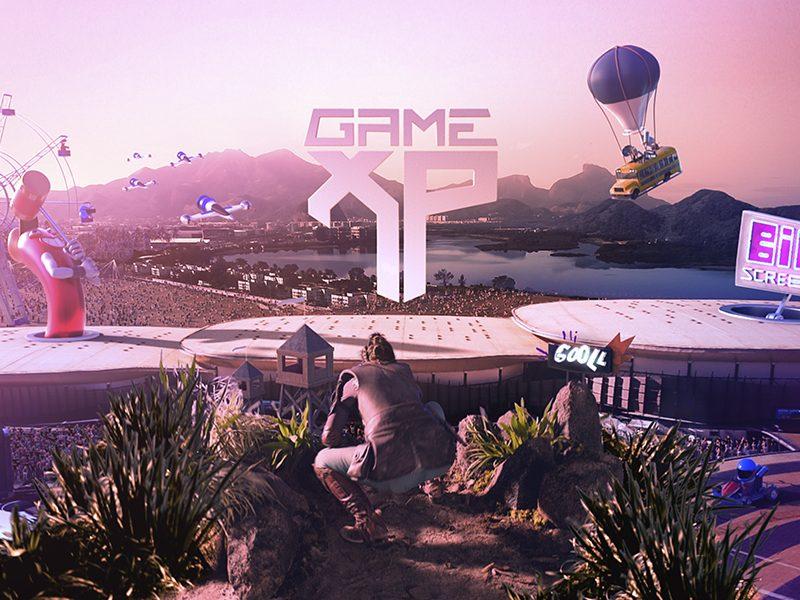 GAME XP   É hora de começar um novo jogo em vídeo incrível do evento!