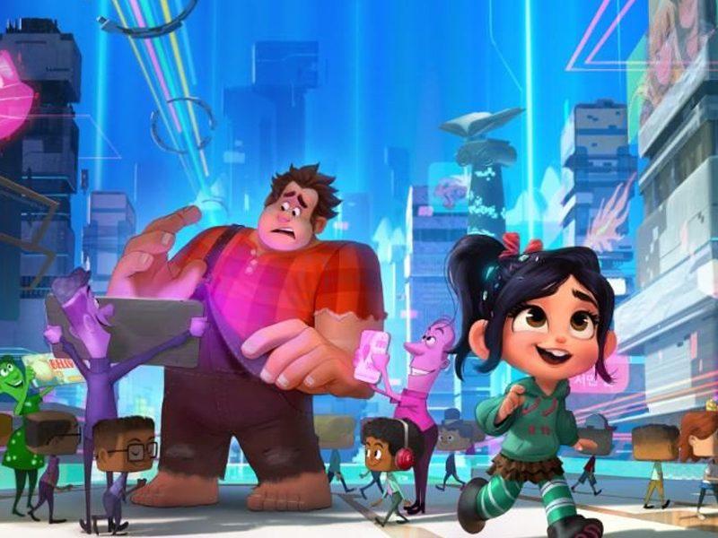 WIFI RALPH   Princesas da Disney se sentem em casa em nova foto da animação!