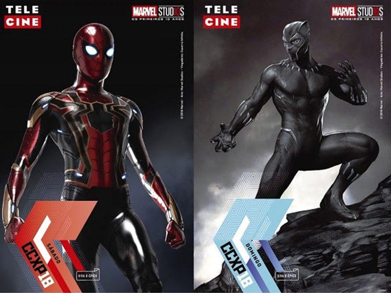CCXP   As credenciais especiais da Marvel estão lindas demais!