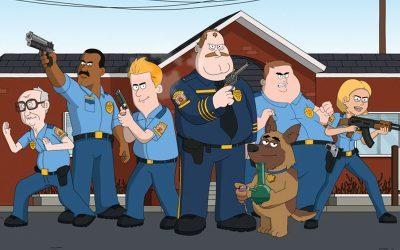 PARADAISE POLICE | Netflix e mais um desenho barra pesada com humor insano!