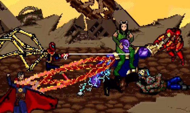 GUERRA INFINITA | Já parou para imaginar como seria a luta contra Thanos em um video game?