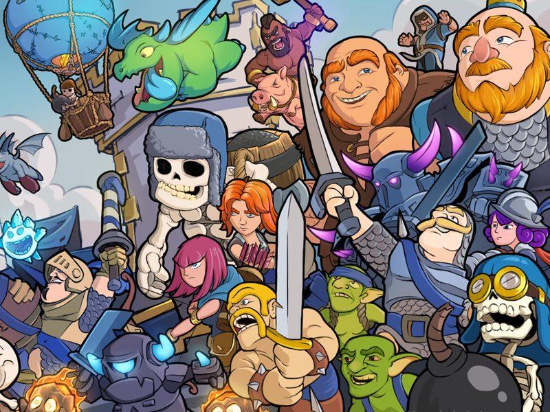 GAME XP   Prepare seu castelo e venha jogar Clash Royale na vida real!