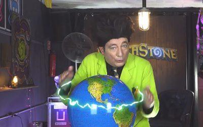 BEAKMAN   O terceiro episódio da série de Hearthstone com o cientista está no ar!