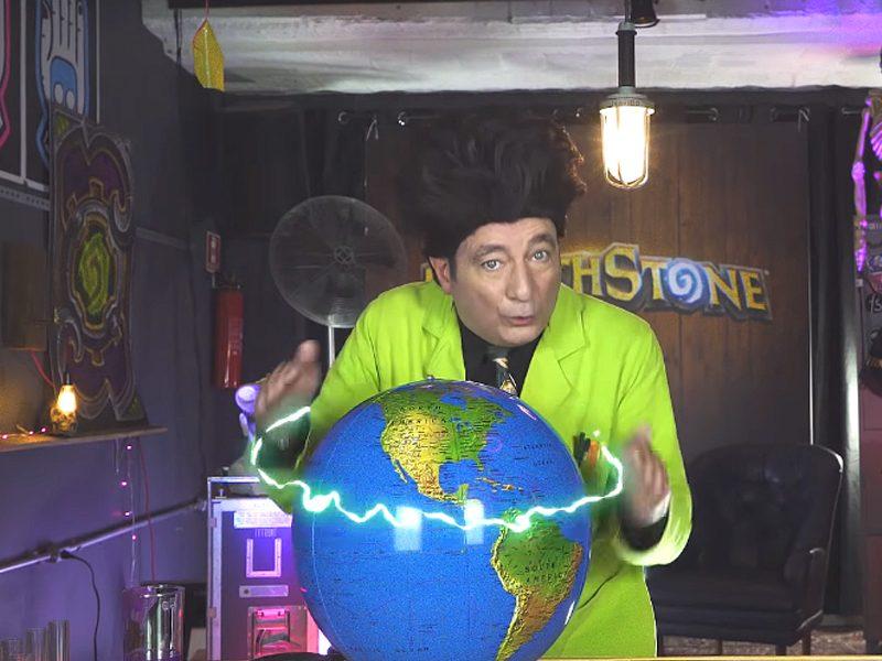 BEAKMAN | O terceiro episódio da série de Hearthstone com o cientista está no ar!